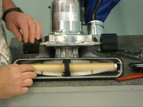 How to Change A Belt On A Royal Metal Upright Vacuum, with Kevin Booth