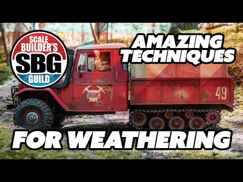 Weathering your RC Truck - Real Rust?!