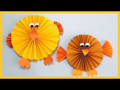 DIY Paper Bird | Paper Sparrow | Easy Crafts