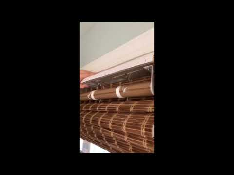 Installing Bamboo Blinds