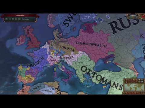 EU4 - Timelapse - Third Rome - Bohimia