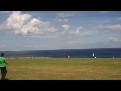Flying kite gangnam style