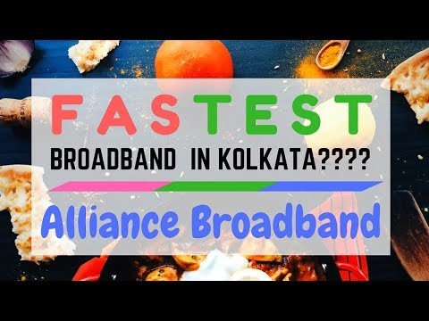 The Super Speed Test ft . Alliance Broadband [West Bengal]