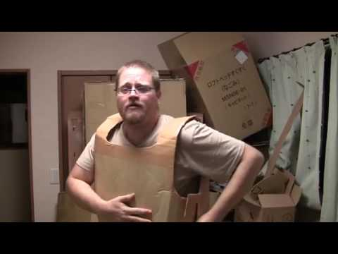 Making a Cardboard Gladiator Costume Breastplate