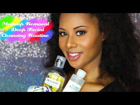 Makeup Removal | Deep Facial Cleansing Routine
