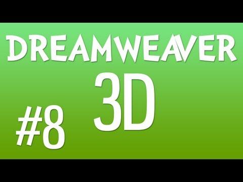 DREAMWEAVER 3D #8: Editing the Search Box Background