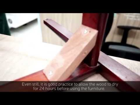 How to strengthen wooden joints of furniture at home - Repair Kopitiam