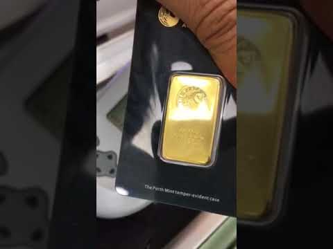 Fake gold bars from EBay