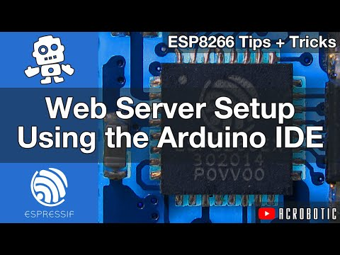 ESP8266 Webserver Step-By-Step Using Arduino IDE (Mac and Windows)