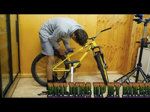 Building Up My BMX & Dirt Jumper