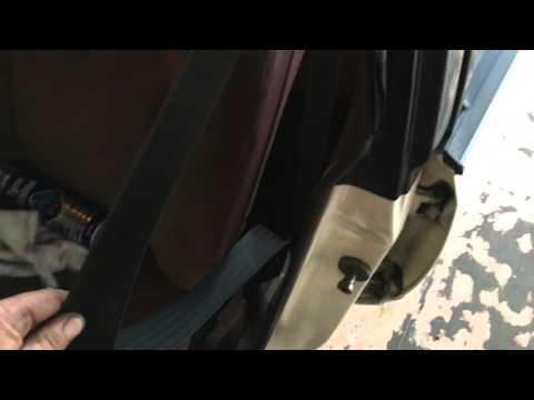 DIY seat belt maintenance for retracting better