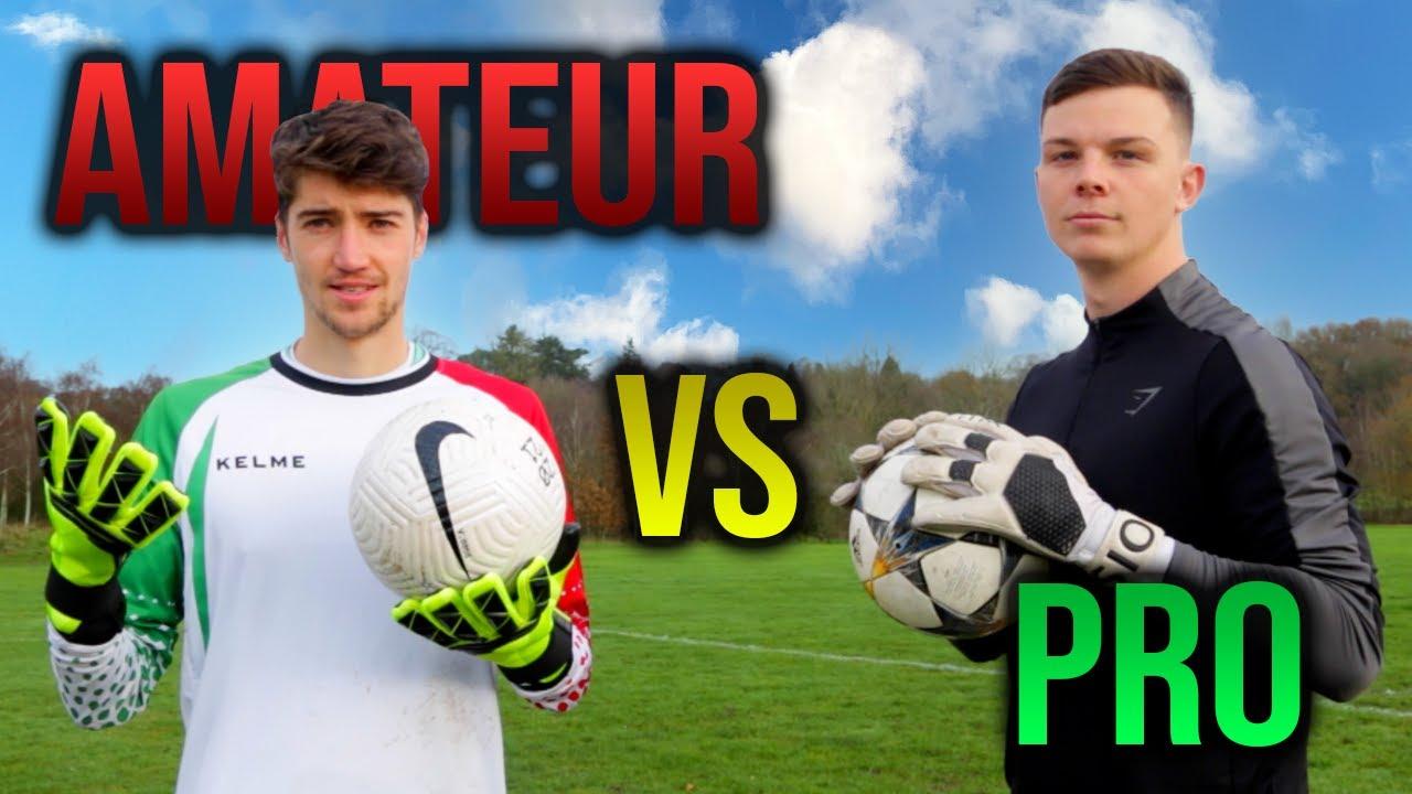 Beginner Goalkeeper VS Expert Goalkeeper - What's the difference?