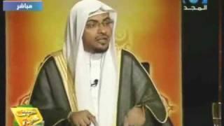 !رد الشيخ المغامسي على الشيخ الشعراوي