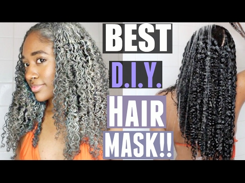 DIY Natural Hair Mask for Healthy Scalp & Hair!