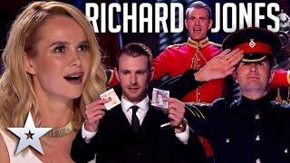 Every MAGICAL performance from Richard Jones   Britain's Got Talent