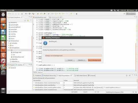 OMNeT++ TCP Congestion Window Test