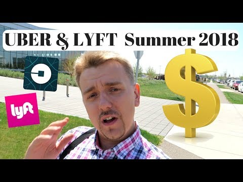 UBER & LYFT in Summer 2018
