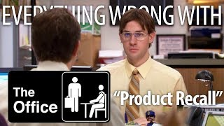 """Everything Wrong With The Office """"Product Recall"""""""