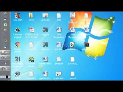 How to move taskbar in Windows 7