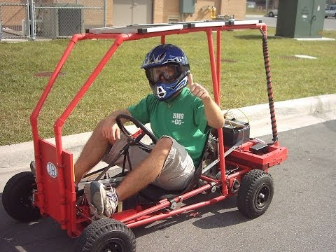 Solar Electric Go Kart
