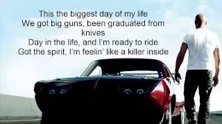 Fast & Furious 6 : We Own It Ft.2 Chainz & Wiz Khalifa [Lyrics On Screen]