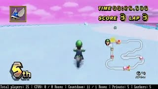 [MKWii] One blue shell, two blue shell, three blue shell-- NOPE