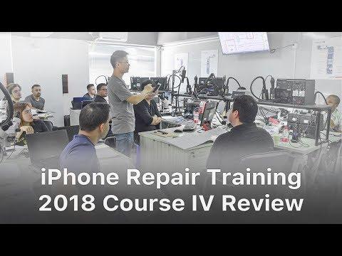 REWA iPhone Logic Board Repair Training Review - 2018 Course Ⅳ
