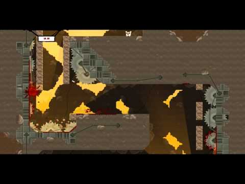 Super Meat Boy HD playthrough part 1