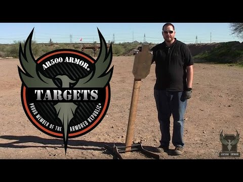 Fixed Target Stand Assembly | Targets by AR500 Armor®