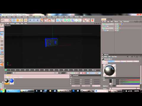 How To Make a 3D Object In Cinema 4D