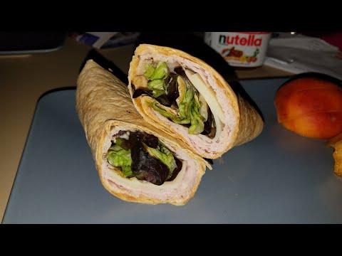 Chipotle ranch turkey wrap 🦃🌯