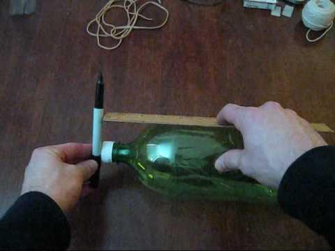 Making a parachute Water Rocket Part 1