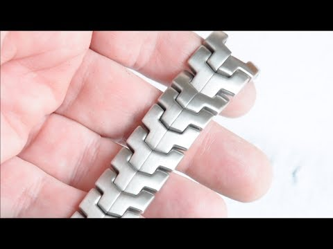 Refinish Watch Bracelet - Remove Scratches & Re-brush/Re-Finish Stainless Steel