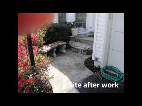 Phoenix Home Services Customer Testimonial Front Stoop and Walkway