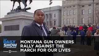 Montana Gun Owners Rally Against the March For Our Lives | The Daily Show