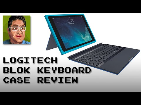 Logitech BLOK iPad Air 2 Protective Keyboard Case Review