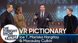 Download Virtual Reality Pictionary with Ice T, Mariska Hargitay and Macaulay Culkin Video