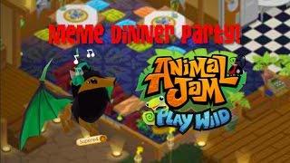 Image of: Ajpw Animal Jam Play Wild Meme Dinner Party Music Jinni Aj Play Wild Baby Flying Cheetah Music Jinni