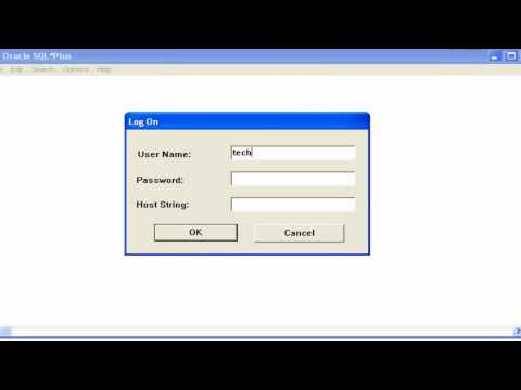 Oracle Database: How-To: Change User Password