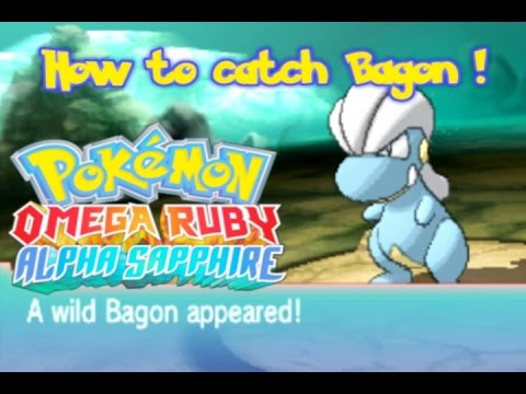 How to Get Bagon Pokemon Omega Ruby and Alpha Sapphire ORAS