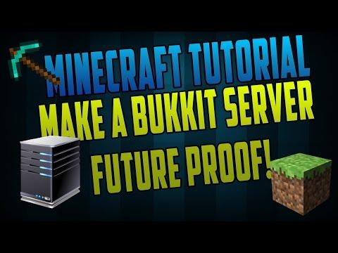2017 How to make a Minecraft Bukkit Server - No Hamachi!