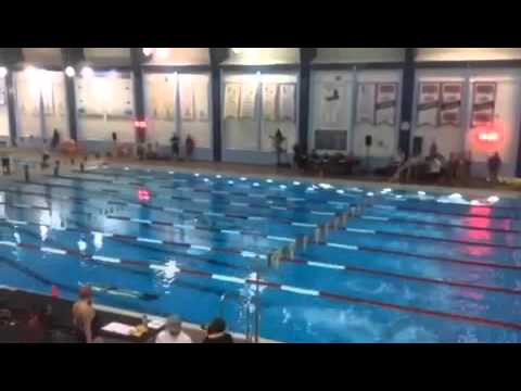 City of Calgary 2015 Lisa Brown 50m Swim with fins
