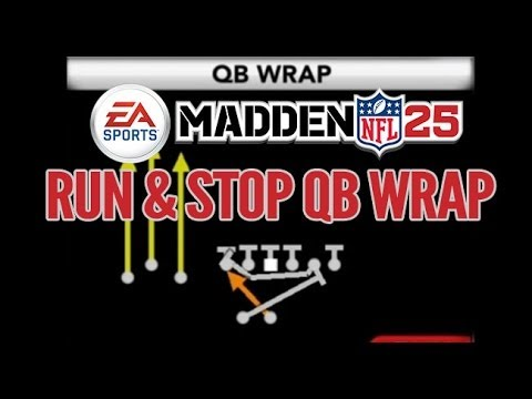 Madden 25 QB Wrap | How to Run & Stop It