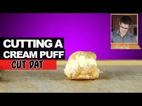 Cutting a Cream Puff
