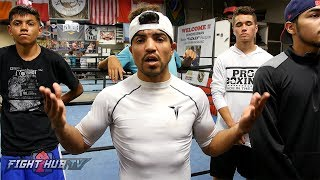 """VICTOR ORTIZ """"AT THIS POINT...BRANDON RIOS IS A WASTE OF TIME!"""""""