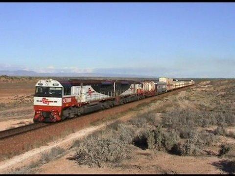 Railways in Australia; EMD's down under; Interstate freight 3MP9