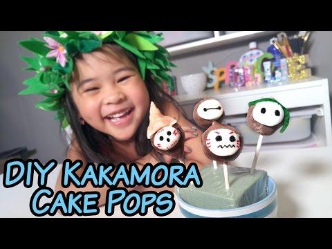 DIY Moana Kakamora Brownie Cake Pops | How to Make Moana Cake Pop Recipe Tutorial! | Moana Birthday