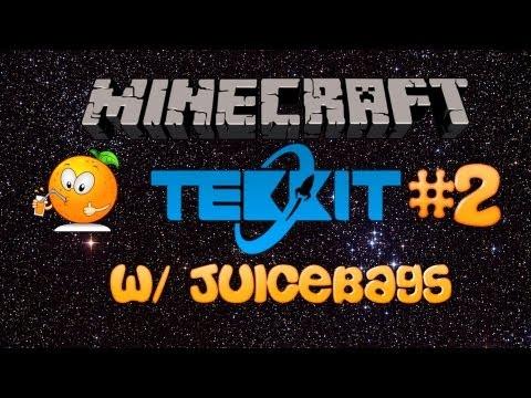 Minecraft Tekkit Server Episode 2 [ Building the First Machines! ]