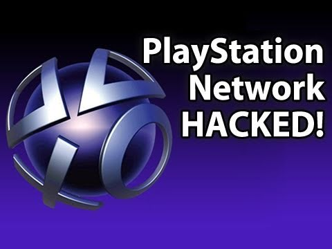 PlayStation Network Was HACKED! Also, your password was stolen.