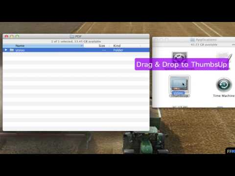 Batch Save First Page of PDF as JPG Free (Mac)